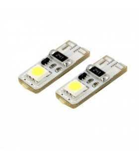 Led de Pozitie T10 12V 3W 36lm set 2buc CAN103 Carguard