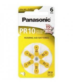 Baterii aparate auditive zinc-air V10 HA10 PR70 Panasonic