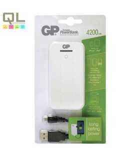 Acumulator portabil powerbank 4200mA alb GP