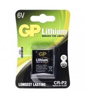Baterie buton litiu foto 6V CRP2 GP 35x19.xX36mm 1buc/blister
