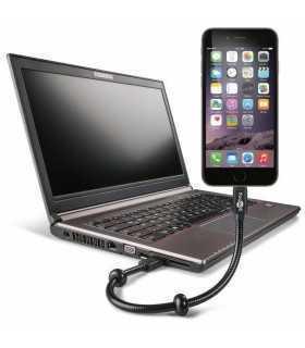 Cablu USB - Lightning 0.3m Goobay