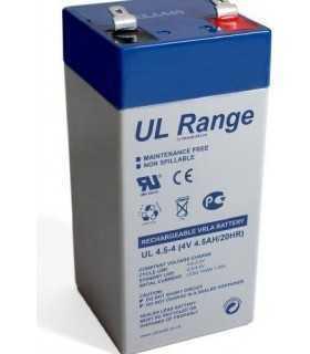 Acumulator plumb acid 4V 4.5A Ultracell 52x48x94mm