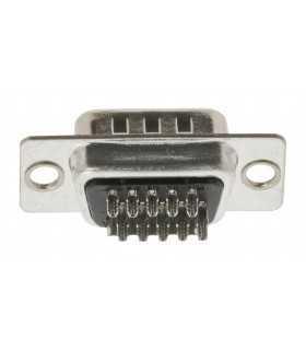 Mufa VGA tata 15 pini cu terminale de lipire Valueline