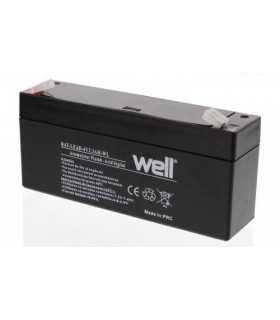 Acumulator plumb acid 6V 3.3AH Well BAT-LEAD-6V3.3AH-WL