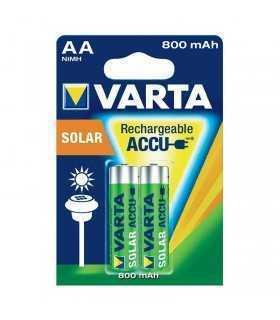 Acumulatori AA Ni-MH 1.2V 800mAh SOLAR VARTA set 2buc