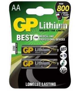 Baterie lithiu R6 AA 2 buc/blister GP