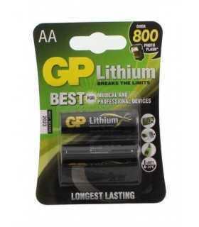 Baterii lithium R6 AA 2buc/blister GP