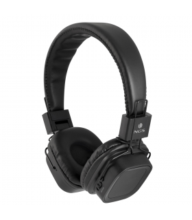 Casca bluetooth 3.0 Jelly Artica stereo neagra NGS