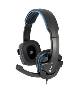 Casti gaming stereo 40mm cu microfon si control volum cablu 2m Jack 3.5mm NGS GHX-505