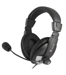 Casca multimedia stereo cu microfon MSX9PRO negru NGS