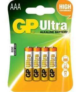 Baterii alcaline R3 (AAA) 4buc/blister Ultra GP