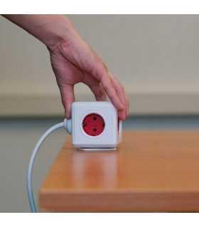 Prelungitor 4 cai cub 1.5m cu telecomanda PowerCube Remote Allocacoc