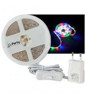 Banda LED RGBWW 3m cu alimentator