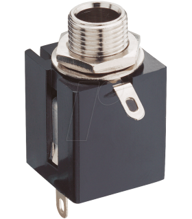 Conector alimentare 6.3 mm sasiu stereo Lumberg