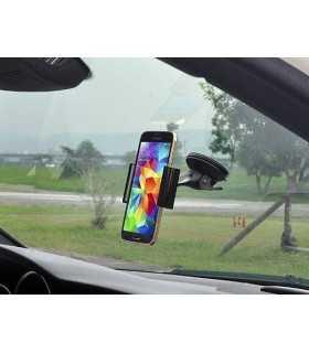 Suport auto telefon pentru bord/parbriz Smart Clip Universal Car/ Desk Mount Holder Luxa2