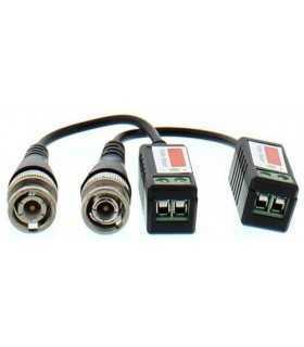 Video balun HD cu surub pentru cablu UTP/FTP Well