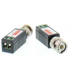 Video balun cu surub pentru cablu UTP/FTP Well