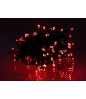 Ghirlanda luminoasa decorativa 100 LED-uri rosii cu jocuri de lumini cablu verde WELL