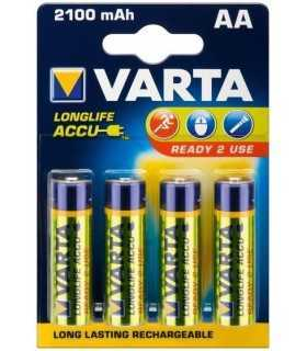 Acumulatori AA Ni-MH 2100mAh Varta 4buc Ready to use