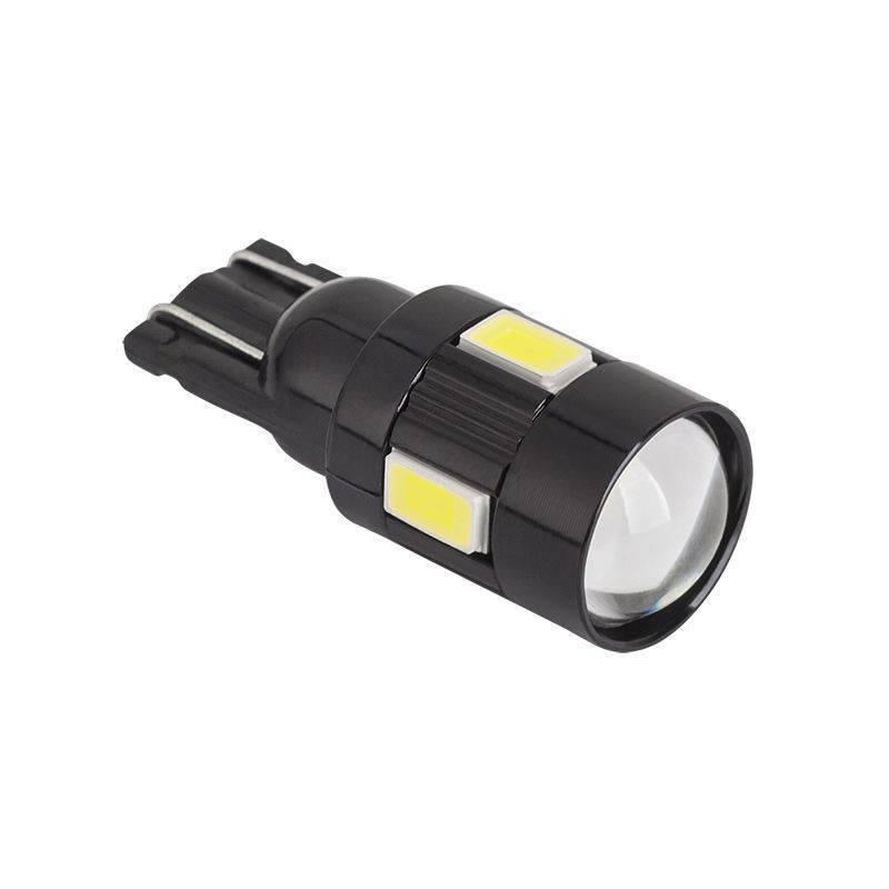 Bec LED auto CANBUS T10 5730 12V 1.35W 70lm 6500K Vipow