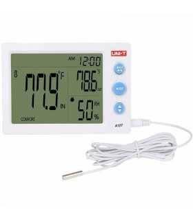 Termohigrometru digital cu sonda temperatura A12T UNI-T
