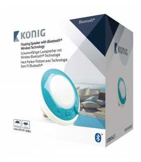 Boxa Bluetooth impermeabila albastra Sweex 3W