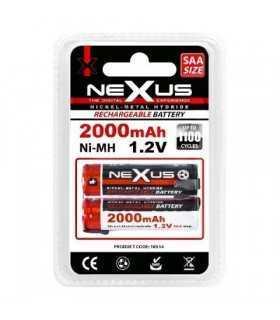 Set acumulator lipire mignon SAA HR06 Ni-Mh 1.2V 2000mAh Nexus 2buc