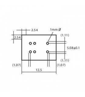 Releu 12VDC 1A 960R 1 morse G5V-1