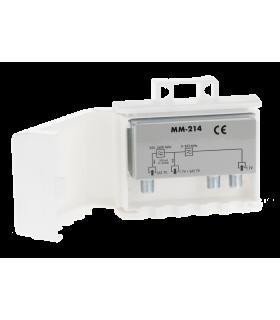 Dispozitiv conectare semnal antena TV externa si antena satelit pe un cablu Cabletech