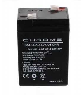 Acumulator plumb acid 6V 4A Chrome 60x47x101mm