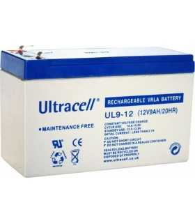 Acumulator plumb acid 12V 9Ah Ultracell borna lata 151x65x93mm