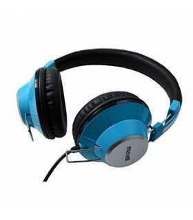 Casca stereo DJ Retro Maxell albastra 3.5mm 1.3m