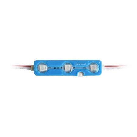 Modul 3 LED-uri SMD5050 albastru IP67 V-TAC