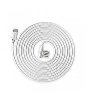 Cablu Remax Rayen Micro USB RC-075 Alb 1m