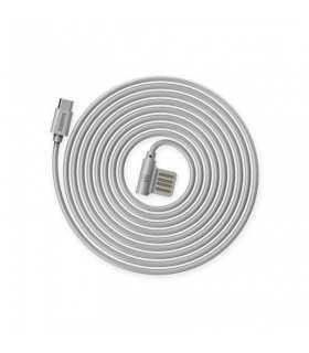 Cablu Remax Rayen Micro USB RC-075 Argintiu 1m