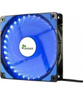 Ventilator albastru Inter-Tech L-12025 120mm Blue LED Fan 12V