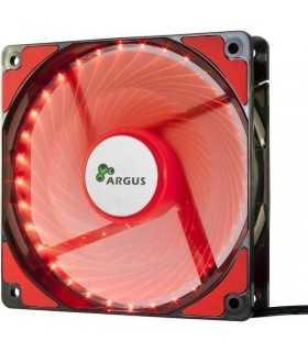Ventilator rosu Inter-Tech L-12025 120mm Red LED Fan 12V
