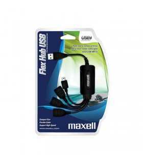 Hub 3 port USB +mini USB Maxell