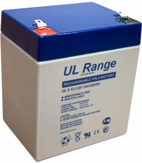 Acumulator plumb acid 12V 5A Ultracell 90x70x101mm