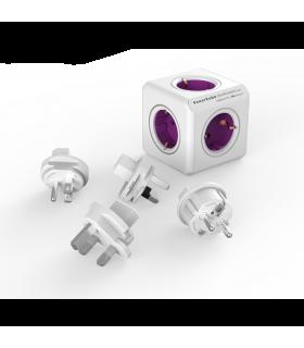 Fisa sub forma de cub 5 cai +4 mufe adaptoare ReWirable Allocacoc