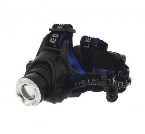 Lanterna frontala cu LED 10W 800lm 200m acumulator 2x 18650 Freedom Well