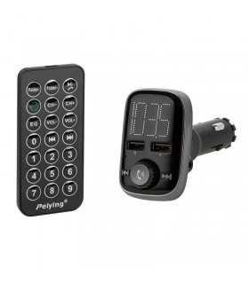 Modulator FM Audio Bluetooth 2x USB Peiying