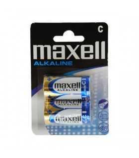 Baterii alcaline R14 C 2buc/blister Maxell
