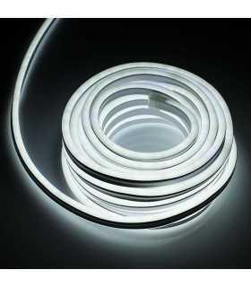 Banda LED 230V FLEX MINI NEON 2835 5500K alb rece 443.5lm/m 120LED/m 7.4W/m 10m IP44