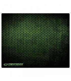 Mouse Pad Gaming verde 40x30cm Esperanza