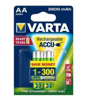 Acumulatori Varta R6 AA 2600mAh Ready2Use 2buc