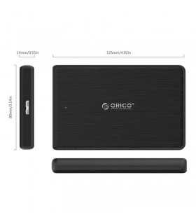 """Rack HDD Orico 2189U3 negru USB 3.0 Tool Free 2.5"""" SATA - 2189U3-BK"""