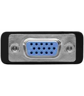 Adaptor DVI-I 24+5 tata la 15 pini HD mama VGA Goobay