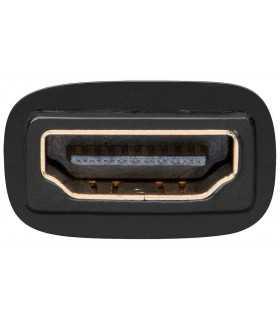 Adaptor aurit HDMI 19 pini mama la DVI-I 24+5 pini mama Goobay