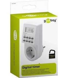 Timer digital 24/7 Goobay